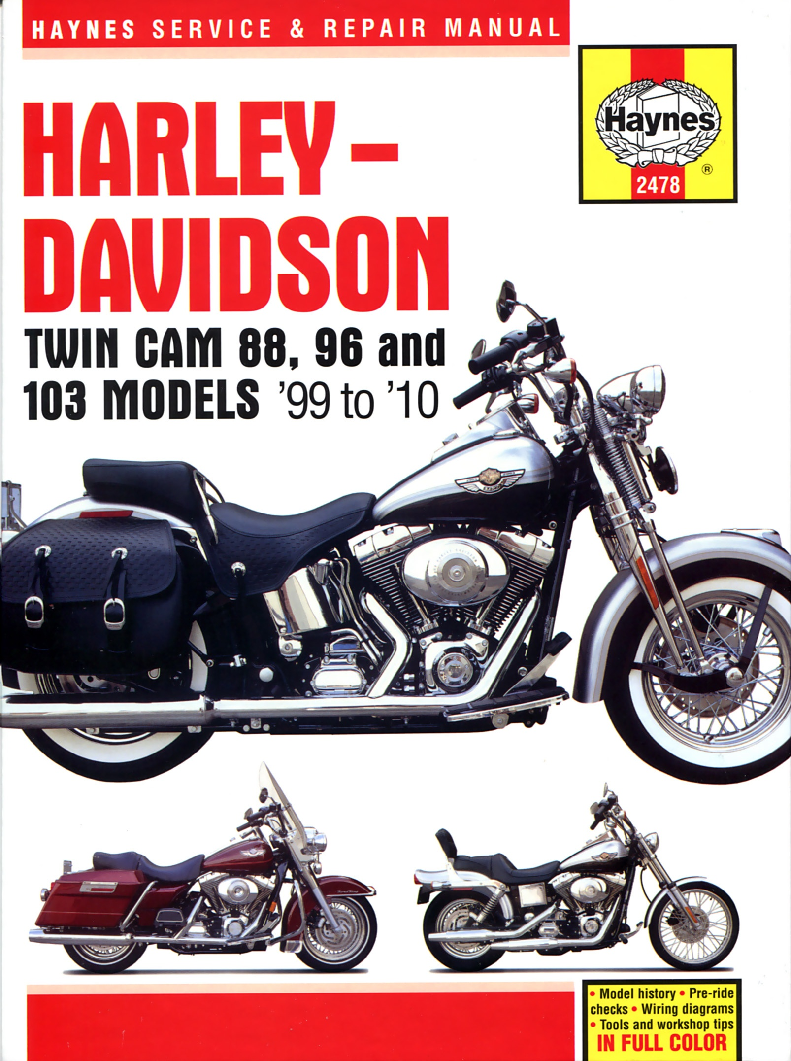 Harley Davidson Heritage Owners Manal