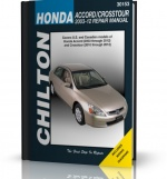 HONDA ACCORD (2003-2012) HONDA CROSSTOUR (2010-2012) CHILTON