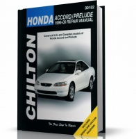 HONDA ACCORD - HONDA PRELUDE (1996-2000) CHILTON