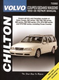 VOLVO COUPES, SEDANS, WAGONS (1990-1998) CHILTON